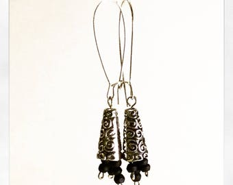 dangle cluster  earrings    the ELE