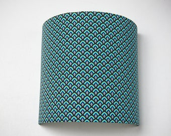 """Wall lamp Lampshade """"Bluescales"""" 20cm"""