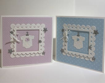 Baby Girl or Baby Boy Card