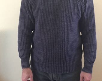 Vintage L.L BEAN knitted sweater // mens size M