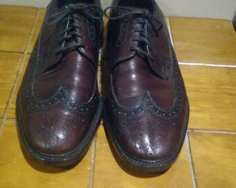 Nice Briarcliff Wingtip Shoes Size 8