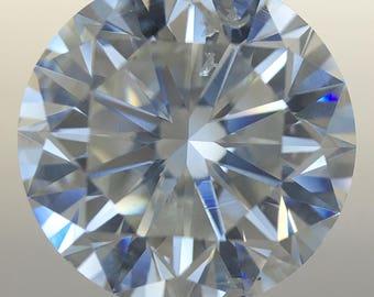 EGL Certified 2.53 CTW SI1 H Loose Diamond Engagement Wedding