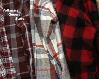 Women's Plaid Flannel Shirts Tops For Wedding Bridal Party Bridesmaids Getting Ready Oversized Boyfriend Hipster Look