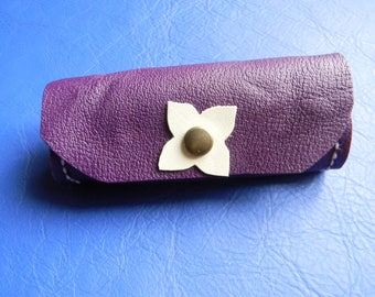 All purple Tote Leather Wallet