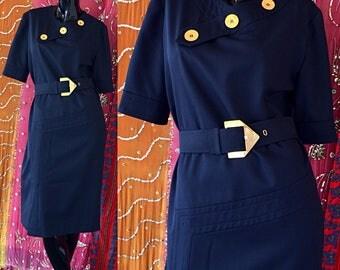 Givenchy Dress Givenchy Nouvelle Dress 60s Mod Silk Wool Dress Vintage 70s Givenchy Dress