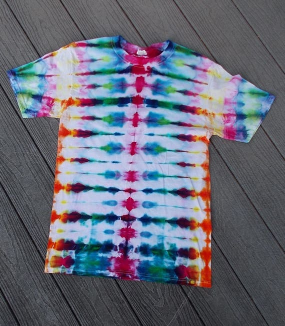 Ice-Dyed Tie Dyed  Tshirt, Small