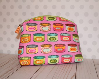 The cats meow make up pouch