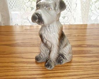 vintage dog figurine vintage terrier dog vintage dog vintage ceramic dog terrier