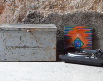 vinyl record storage etsy. Black Bedroom Furniture Sets. Home Design Ideas