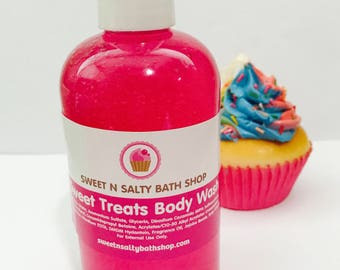 Pink Sugar/Cotton Candy Sweet Treats Bath/Shower Body Wash-More Yummy Scents to Choose from!!