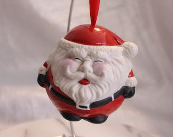 Vintage Santa Clause Air Freshener Ornament hanging ornament