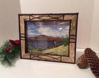 8x10 Adirondack Photo Frame