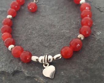 Chalcedony 925 Sterling Silver Bracelet