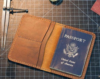 Travel in style with our Passport Handmade from premium Leather