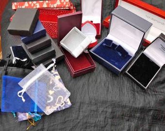 Job Lot of Courtesy Cases for Shipping Jewellery