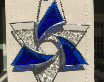 STAINEDGLASS SUNCATCHER STAR