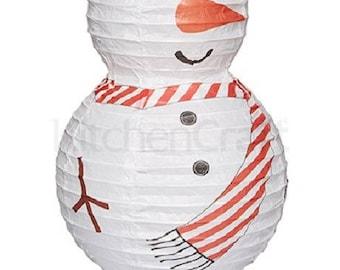 Lantern Led snowman