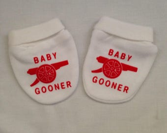 Baby Gooner Inspired Baby Scratch Mitts