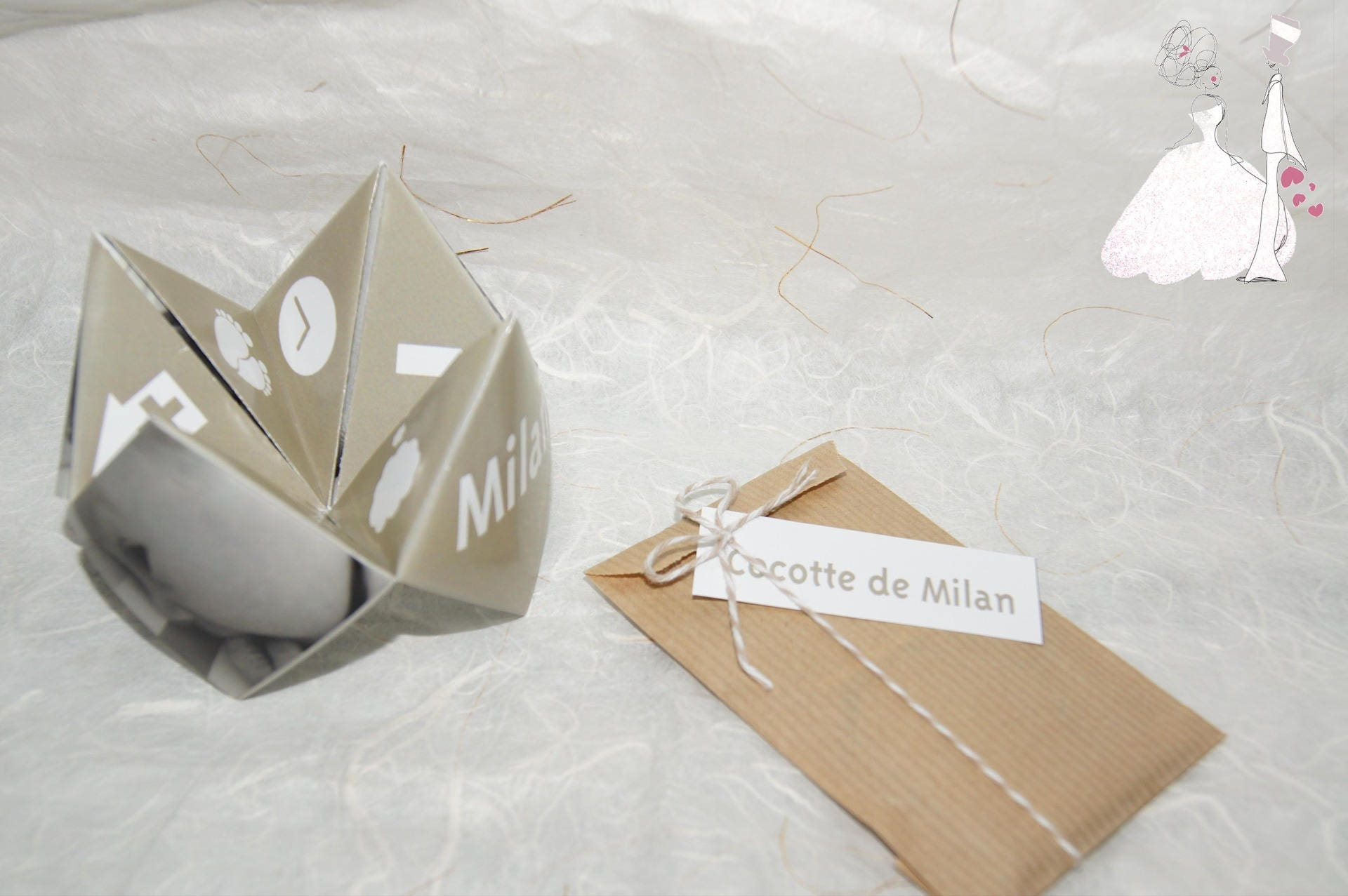 faire part naissance th me origami. Black Bedroom Furniture Sets. Home Design Ideas