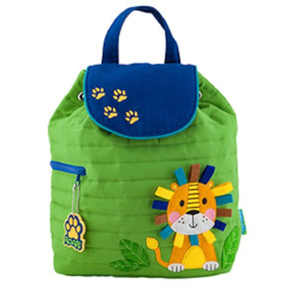 Stephen Joseph Quilted Lion Backpack