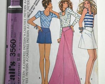 1970s Mccalls vintage pattern #3560
