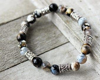Agate Yoga Bracelet