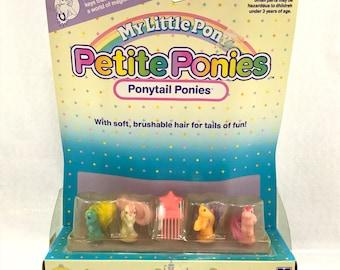 """Vintage My Little Pony G1 MLP Petite Mini Ponies """"Ponytail Ponies"""" *See Details (#03)"""