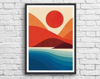 Art-Poster 50 x 70 cm - Seaside