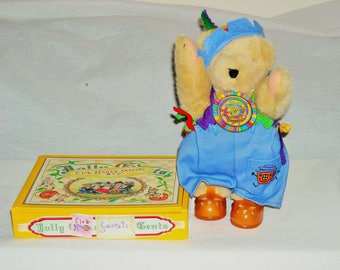 """SALE! 19.00! Muffy Vanderbear, Clubhouse Edition/""""Whats the Secret Password?""""/Comes with Box filled with Stickers, Memos, Cards etc."""