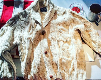 Woolrich Women's Vintage Cable Cardigan
