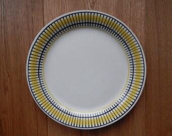 Gefle Upsala Ekeby Sweden GULLI Plate Vintage Sweden Salad Plate, Scandinavian Retro Tableware