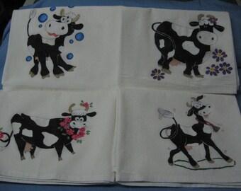 Cotton Flour Sack Dish Towel Set