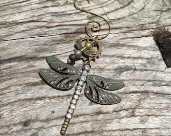 steampunk dragonfly | etsy