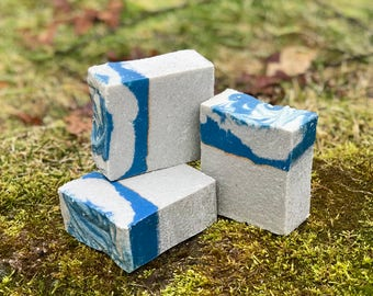 Code Breaker Rough Handcrafted Ex-Large Pumice Soap - Mechanic - Kitchen- Great for Guys!