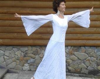 White Dress, White Maxi Dress