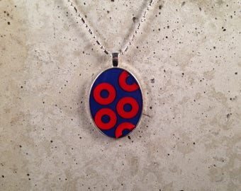 Oval Fishman Necklace