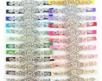 2017 Luxury Crystal Baby Headbands Fashion Girl/Children's Blinking Headbands -- YTC15