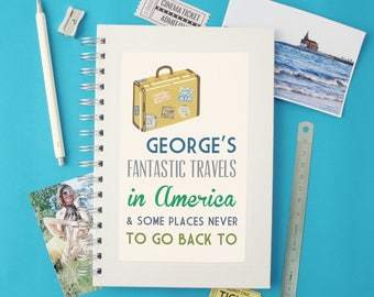 Personalised Communique Travel Notebook