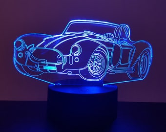 Lamp 3D design: AC Cobra