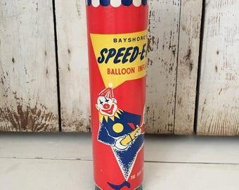Vintage ballon pump/ clown/ circus /party decor