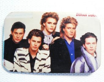 BIG Vintage 80s Duran Duran Pin / Button / Badge