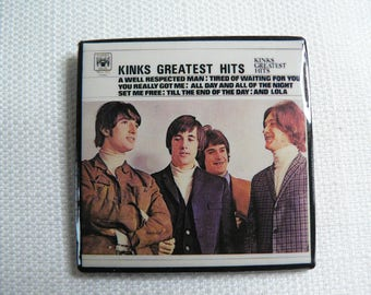 Vintage 70s The Kinks - Kinks Greatest Hits Album - Marble Arch Records (1971)  Pin / Button / Badge