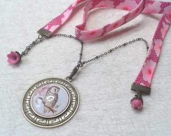 Liberty Duke OWL Cabochon necklace