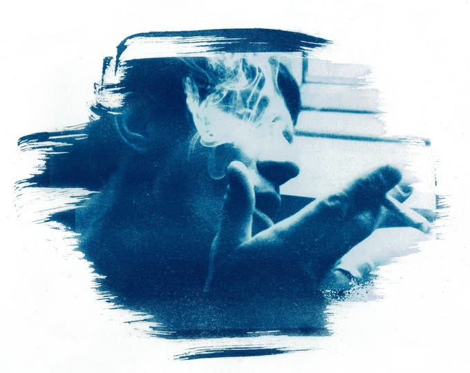 Cyanotype Custom Portrait
