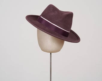 Women's Fedora Mens Winter Fall Felt hat