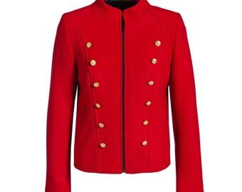 Womens Military Jacket, LADIES NAPOLEON JACKET N101