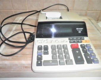 Vintage Sharp EL-1197p 12 digit calculator