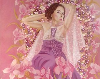 Spring - oil on canvas - original artwork