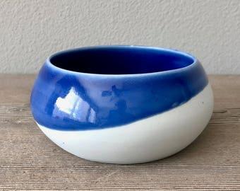 Modern soup/salad bowl. Haight Pottery Company