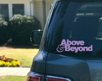 Above And Beyond Etsy